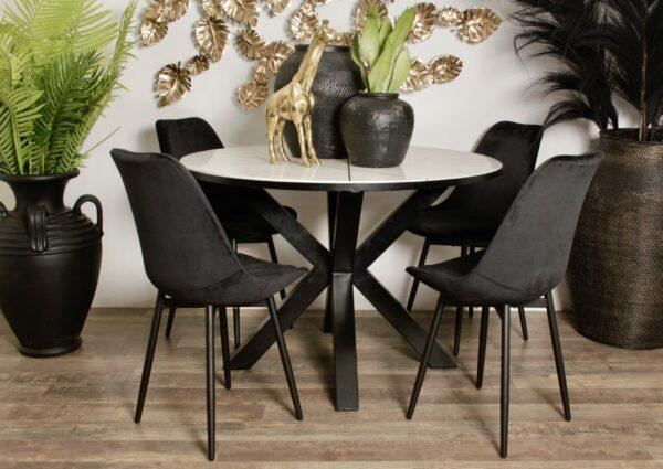 Leaf chair bla 9