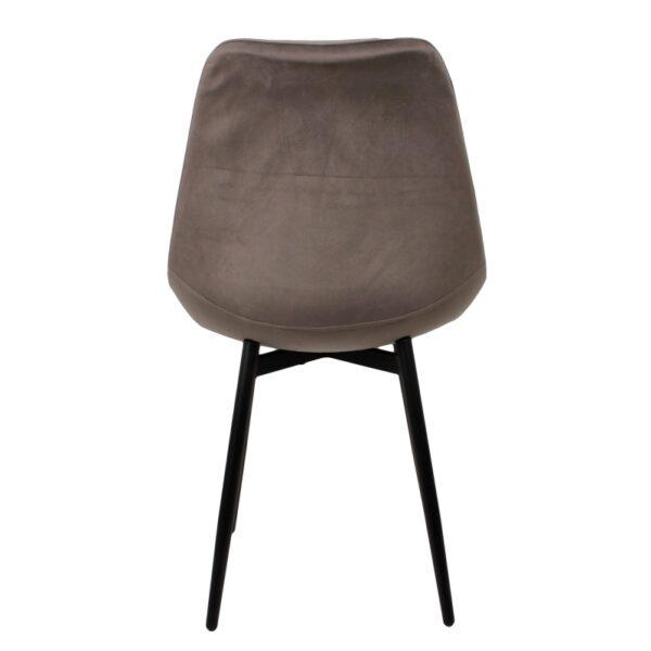 Leaf chair dark grey 3