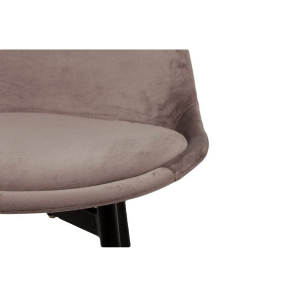 Leaf chair dark grey 6