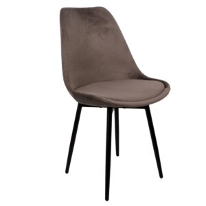 Leaf chair dark grey1