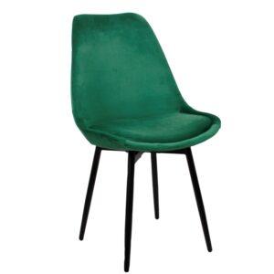 Leaf chair emerald green 1