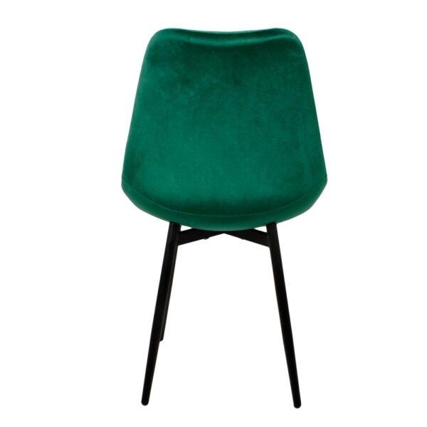 Leaf chair emerald green 3
