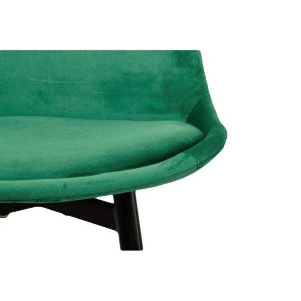 Leaf chair emerald green 6 1 1