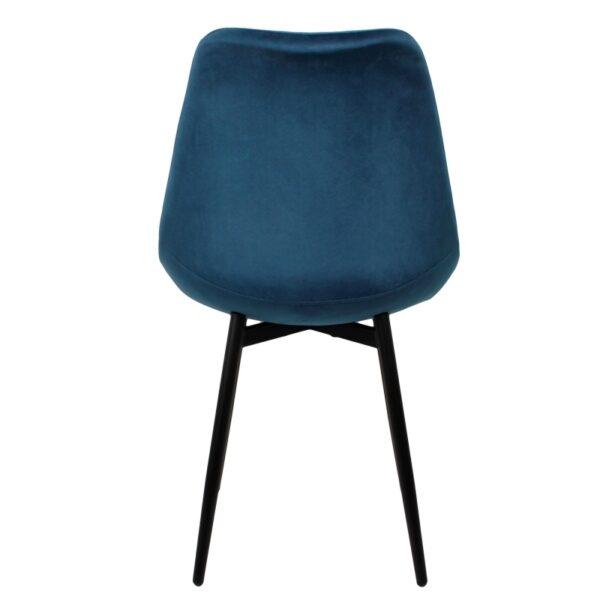 Leaf chair ocean blue 3 1
