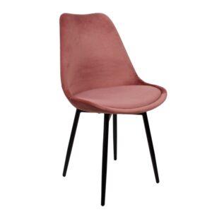 Leaf chair pink1
