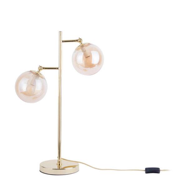 leitmotiv tafellamp shimmer bruin 8714302666537